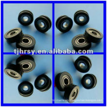 Phosphate surface belt pulley
